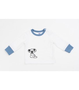 L/s T-shirt The Little Koala with blue details