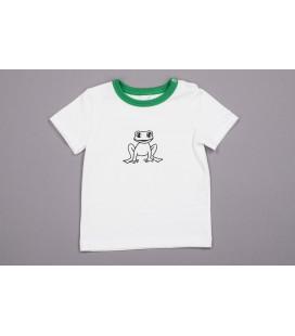 Rohelise kandiga T-särk Krooks