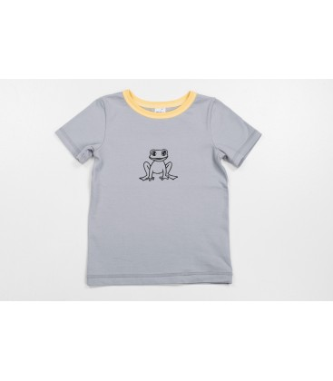 T-shirt Krooks with yellow details